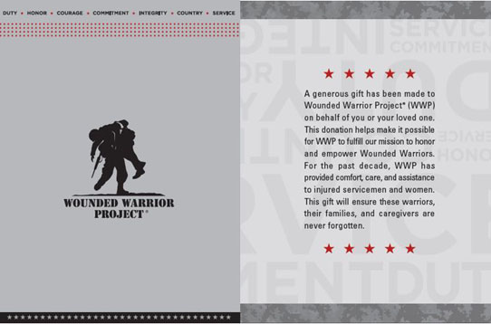 wounded warrior project coupons