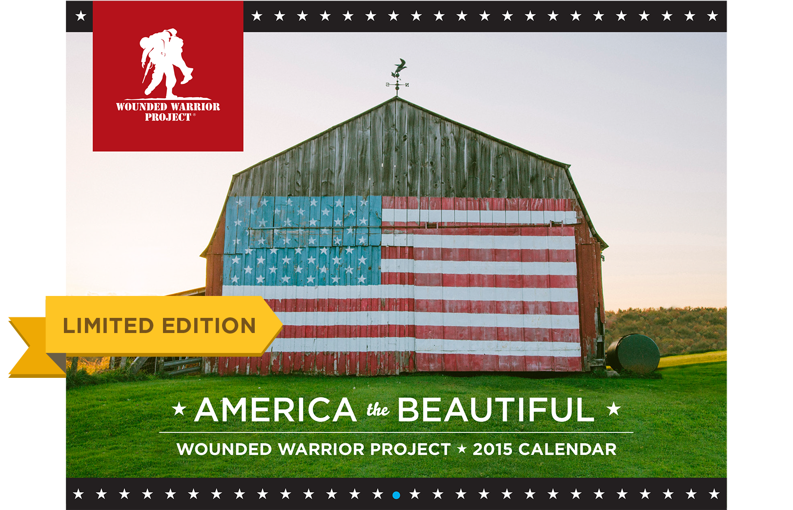 Wounded Warrior Project Landscape Calendar
