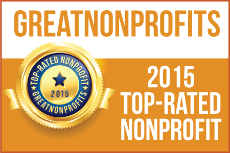 2015 Top Rated Nonprofit by Great Nonprofits
