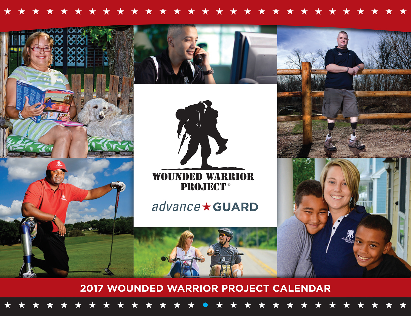 Wounded Warrior Project Warrior Calendar